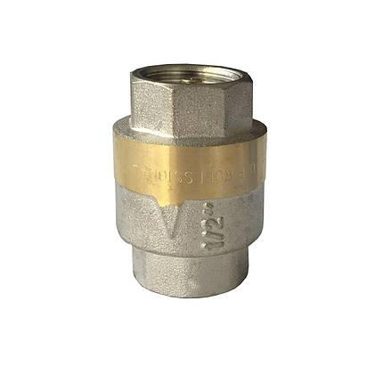 """Клапан зворотного ходу води Professionall QP100 латунний шток 1/2"""", фото 2"""
