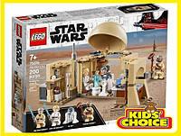 Конструктор LEGO Star Wars Хатина Обі-Вана Кенобі для дітей від 7 років