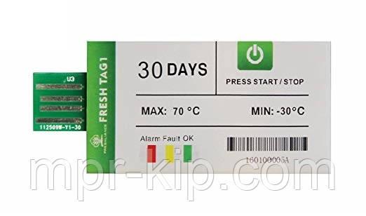 Одноразовий реєстратор температури Fresh Tag 1 (-30 ...+ 70 С; ±0.5 С) 30 днів. IP67. PDF