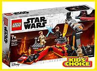 Конструктор LEGO Star Wars Бій на Мустафарі для дітей від 7 років