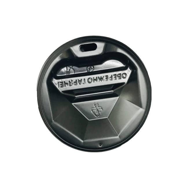 Кришка для стаканчика 250 мл Євро, діаметр 79 мм, 2000 шт/ящ., 50 шт./рукав (арт.062)