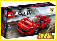 Конструктор LEGO Speed Champions Ferrari F8 Tributo для дітей від 7 років