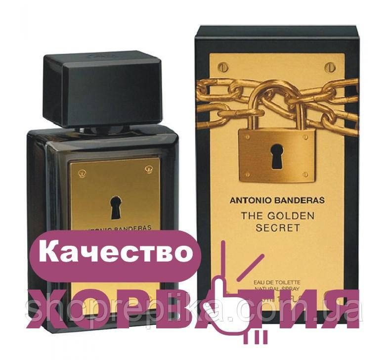 Люкс копия АА++  антонио бандерас голден сикрет Antonio Banderas The Golden Secret