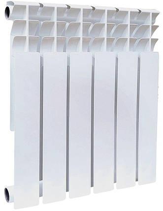 Секція біметалічного радіатора GALLARDO Bi POWER 500/96 мм (175 Вт), фото 2