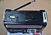 Радиоприемник с фонарем Golon RX-381 - Радио с MP3, USB/SD и LED фонариком Черный, фото 4