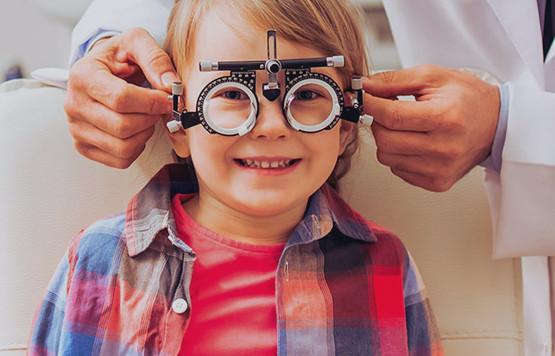 Діагностика зору для дітей
