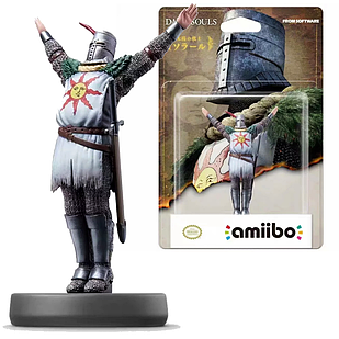 Коллекционная модель Amiibo Солер из Асторывоин света Solaire of Astora Dark Souls Темные Души 10смDS 21.057