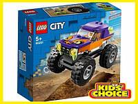 Конструктор LEGO City Монстр-трак для дітей від 5 років
