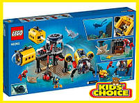 Конструктор LEGO City Дослідницька база океану для дітей від 7 років
