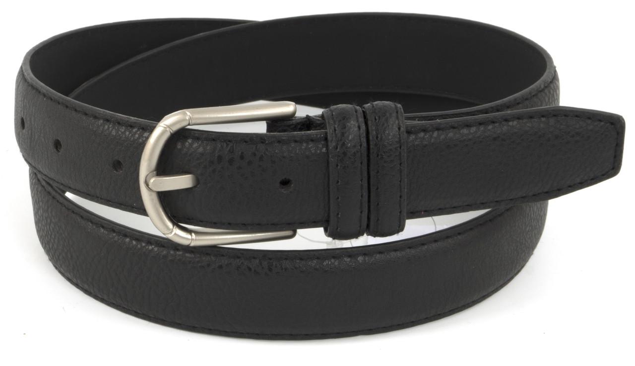 Женский ремешок с искусственной кожи высокого качества 3 см (73621) черный