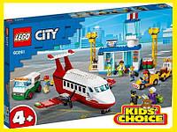 Конструктор LEGO City Головний аеропорт для дітей від 4 років