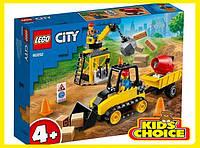 Конструктор LEGO City Будівельний бульдозер для дітей від 4 років