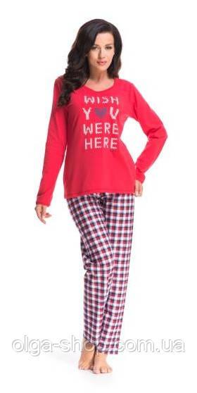 Пижама женская Dobra Nocka 8072 брючная хлопковая