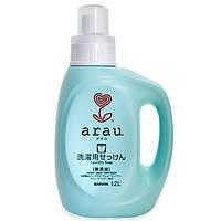 Рідина для прання одягу Arau з ароматом герані 1,2 л