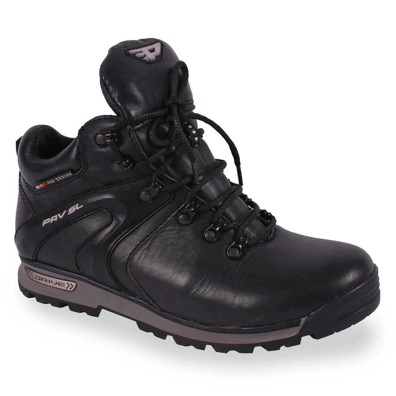 a240e09a0 42 размер Мужские ботинки кожаные (зимние, теплые, на шнурках, на меху)
