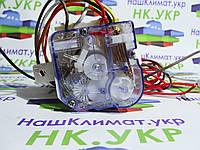 Часы, таймер квадратный (одинарный, 3 провода) для стиральных машин Elenberg/Orion/Daewoo/Saturn