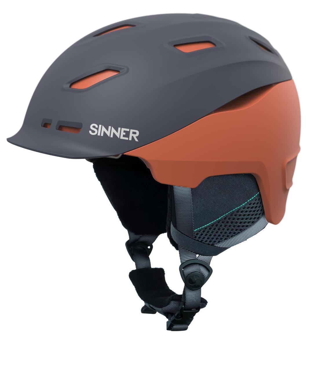 Шолом гірськолижний Sinner Pincher M Matte Bright Blue (SIHE-136-50Z-58)