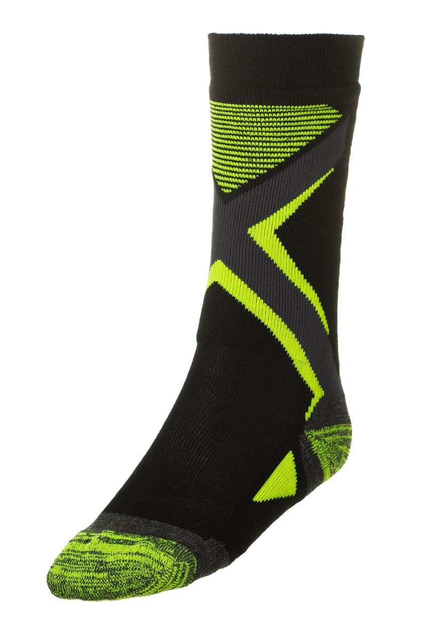 Шкарпетки дитячі лижні Relax Thunder RS036 M Black-Green