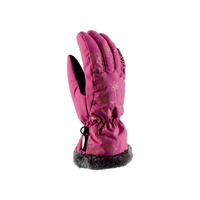 Рукавиці гірськолижні жіночі Viking Jaspis 6 XS Рожевий 46