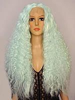Парик на сетке Lace Wig Aquamarine, фото 1