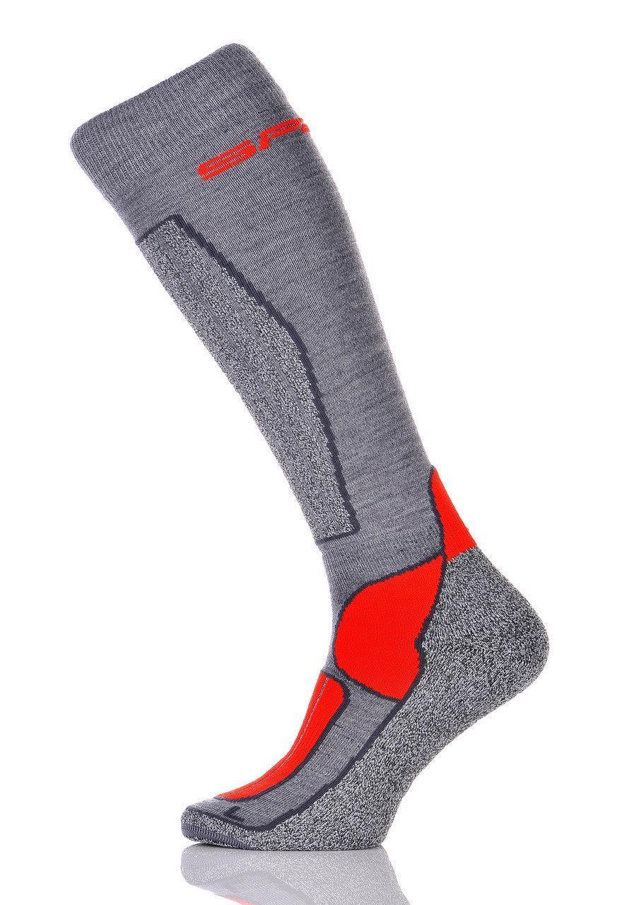 Лижні Шкарпетки Spaio Merino Vigour 35-37 Grey-Red