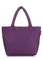 Стеганая сумка POOLPARTY pp1-eco-violet