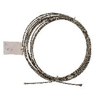 Трос стальной оцинкованный DIN 3055 3 мм (отрезок)