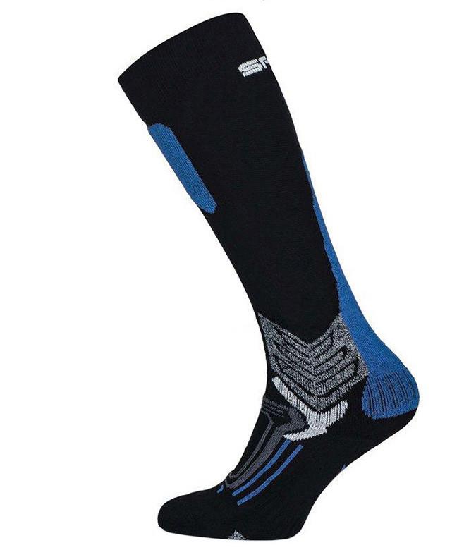 Лижні Шкарпетки Spaio 38-40 Black-Grey-Blue