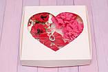 Набор резинок в подарочной упаковке красно-коралловый 329 Об, фото 2