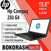 "Ноутбук Hp Compaq 250 G4 / 15.6"" /  Intel Core i3-5005U / DDR3-8GB / SSD-256GB(к.00119243), фото 1"