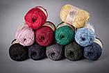 Пряжа полушерстяная Vivchari Semi-Wool, Color No.402 желтый, фото 2