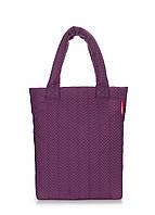 Сумка стеганая POOLPARTY ns3-violet-fir