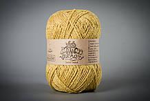 Пряжа полушерстяная Vivchari Semi-Wool, Color No.402 желтый