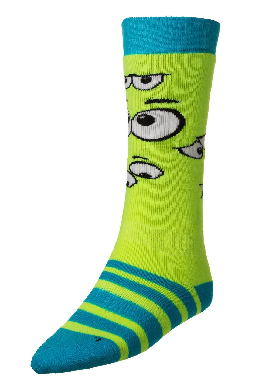 Шкарпетки дитячі лижні Relax Happy RS035 M Green-Blue