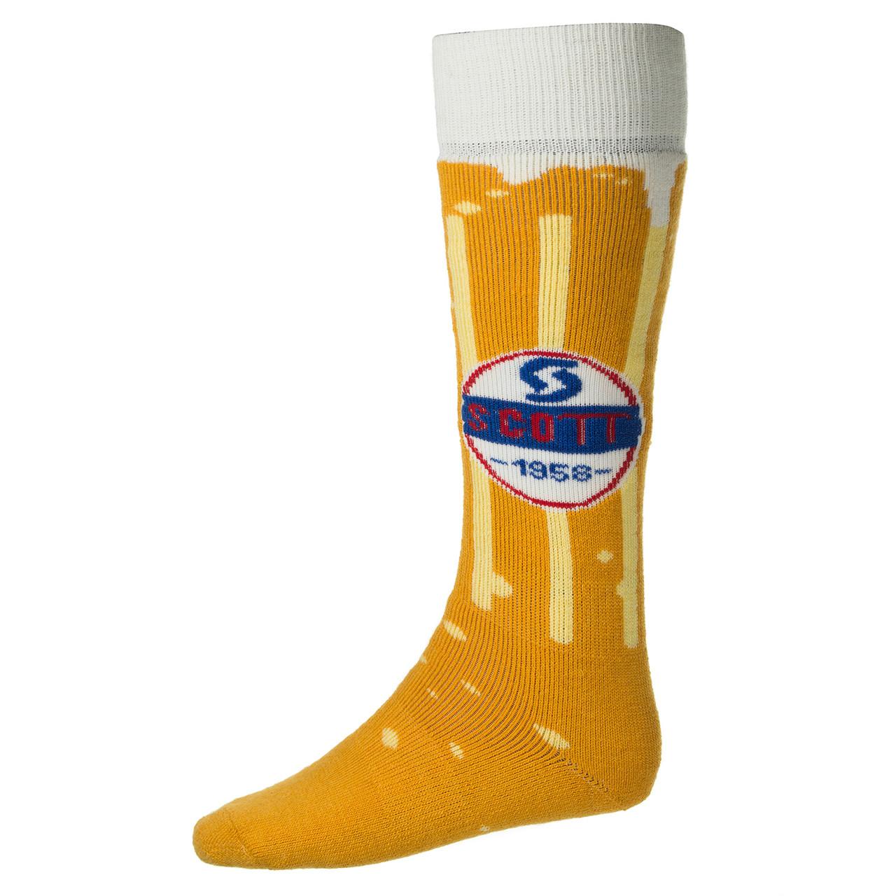 Лижні Шкарпетки Scott Beer Thirty M Yellow-White