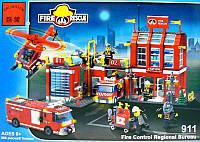 Конструктор детский Brick Пожарная охрана 911, фото 1