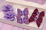 Набор украшений сиренево-фиолетовый 331 Об, фото 2