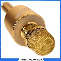 Микрофон караоке YS-66 2 в 1 - беспроводной Bluetooth микрофон - портативная колонка со слотом USB + TF card, фото 3