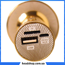 Микрофон караоке YS-66 2 в 1 - беспроводной Bluetooth микрофон - портативная колонка со слотом USB + TF card, фото 2
