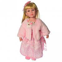 Кукла музыкальная интерактивная Маленькая дама Метр + M 4043 UA