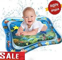 Детский игровой водный коврик. Развивающий водный коврик.