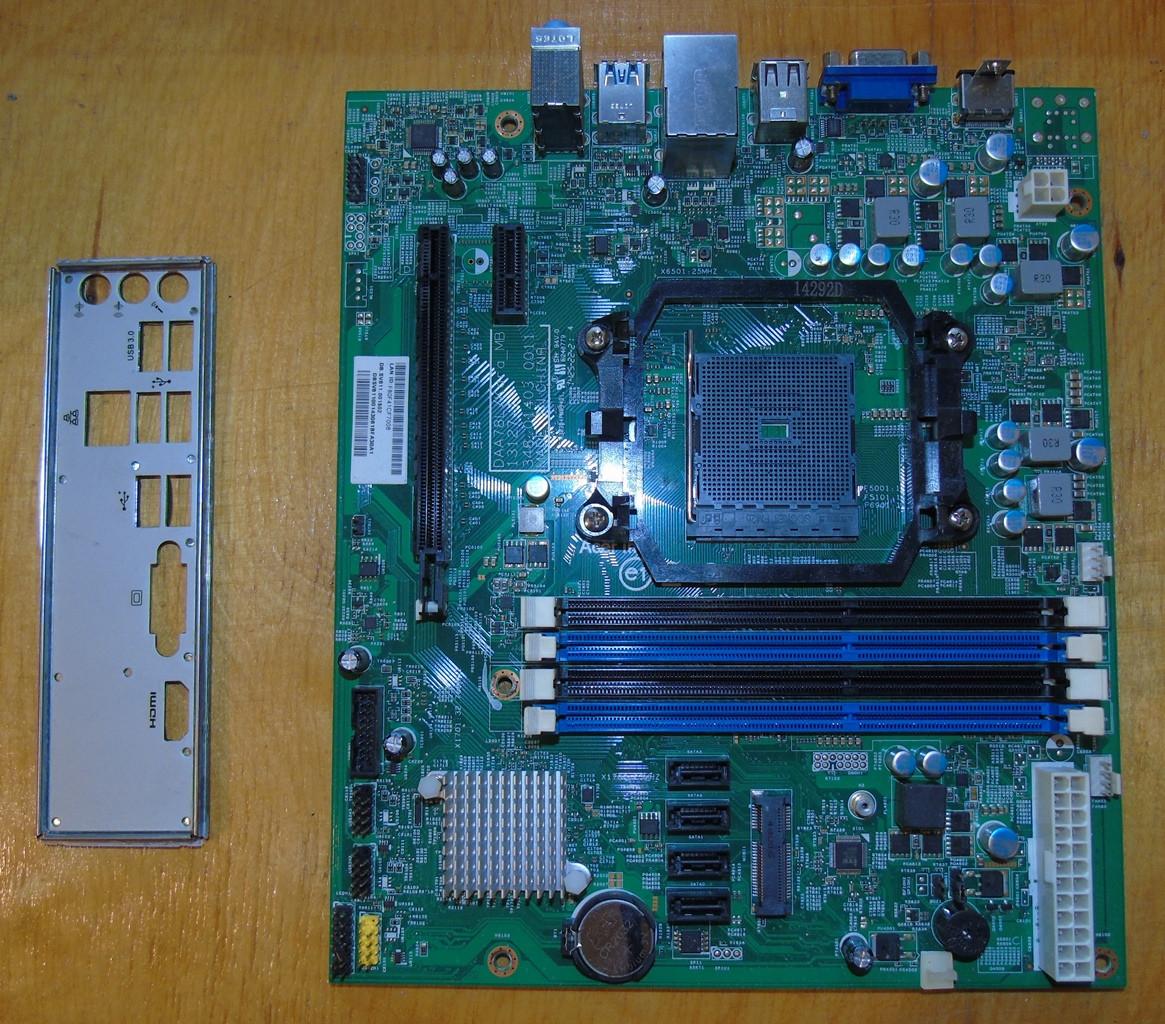 FM2b Материнская плата Acer Aspire Tc-120 не рабочая