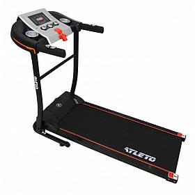 Беговая дорожка электрическая с 12 встроенными программами и максимальной нагрузкой до 95 кг