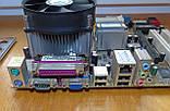 775 Материнская плата Asus P5GZ-MX + Процессор Celeron D 352 #7, фото 3