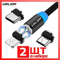 Магнитный кабель Lightning Iphone, Магнитный кабель Micro USB, Магнитный кабель Type C, магнитная зарядка