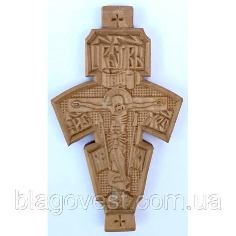 Крест дер.параманный большой