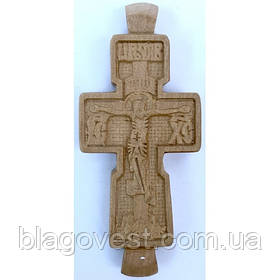 Крест дер.параманный малый