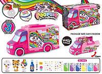 Игровой набор Toy Kingdom Машина Poopsie Единорог Surprise Unicorn 34x13.5x20см PG5007
