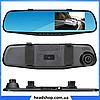 """Автомобильный видеорегистратор DVR 138E 2.7"""" - видеорегистратор зеркало заднего вида, авторегистратор зеркало, фото 3"""