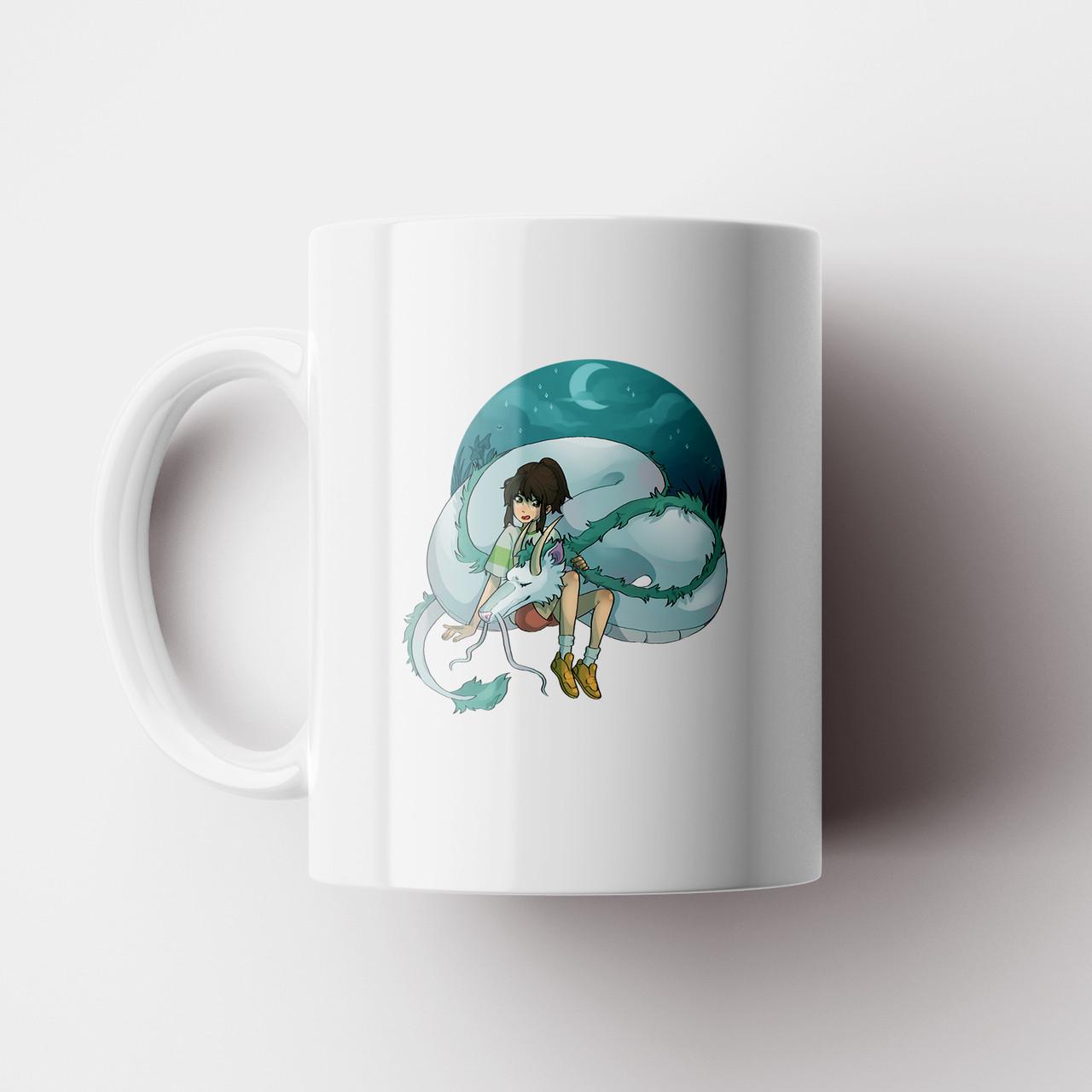 Чашка Віднесені привидами Дракон Хаку №12. Аніме